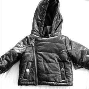 NWT Newborn winter coat